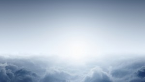 Misty sunrise
