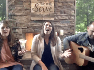 Live Worship with Erica Boutwell, Lydia & Scott Ingegneri During Online Event