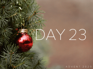 """Advent Day 23 with Charlotte Ryerson: """"Blessed, Blessed, Blessed"""""""