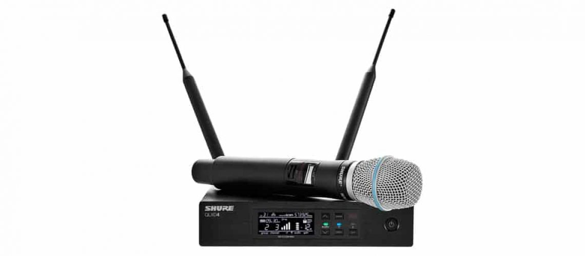 shure microphone system